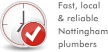 We are the plumbers that you can rely on in Nottingham